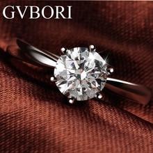 18K ТВЕРДОЕ ЗОЛОТО шестикулачковое бриллиантовое кольцо для женщин F SI1 GIA сертификат роскошные свадебные/обручальные/кольцо на головщину