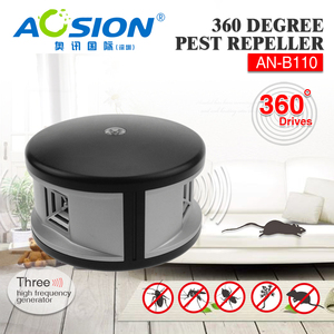 Image 5 - Free shipping Home Aosion 360 degree ultrasonic Rats rodent mouse mice repellent and electronic pest repeller control