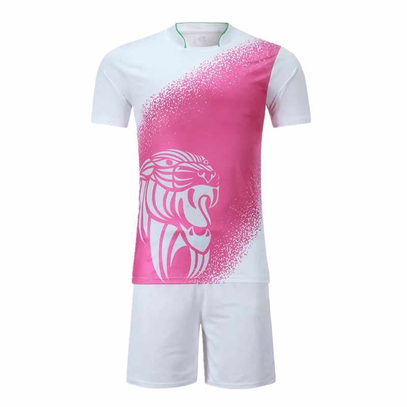 7885adcc787 ... Youth Kids Survetement Football Jerseys Sports Kit Adult Mens Soccer  Jerseys sets DIY Uniforms Tennis Shirts ...