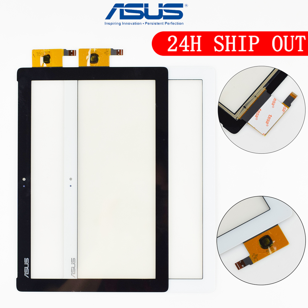 Original 10.1'' For Asus ZenPad 10 ZenPad Z300 Z300M Touch Screen Digitizer Panel Sensor Tablet PC Yellow Ribbon Cable For Z300M