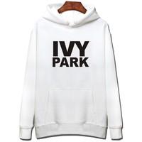 2018 New Fashion Spring Jacket Pullover IVY PARK Wear Sweatshirt Hoodie Women Casual Femme American Apparel