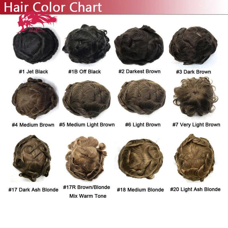 Али королева системы замещения волос моно кружева NPU индийские волосы remy парик Мужские волосы кусок парик