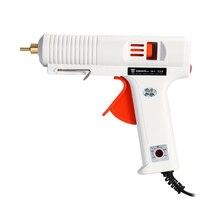 DEKO 120W Hot Melt Glue Gun with 1pc 11mm Glue Stick Heat Temperature Tool Industrial Guns Thermo Gluegun Repair Heat Tools