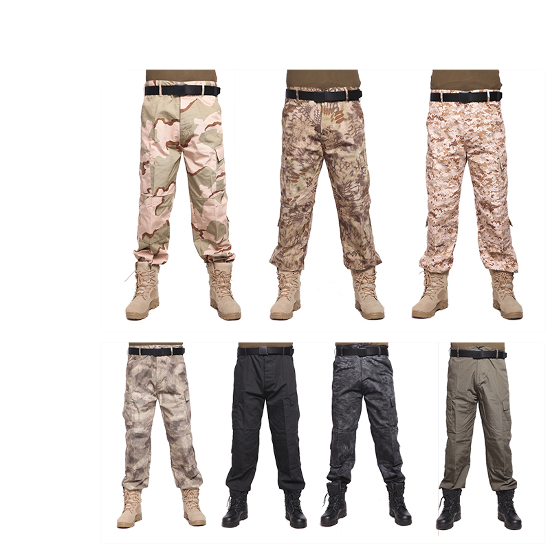 2017 new plus size War Game men tactical pants camouflage cargo pants pants army military airsoft Active Pants trousers