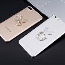 Rabbit Design Phone Holders 360 Degree Metal Finger Ring Mobile Phone Smartphone Stand Holder For iPhone for Samsung Smart
