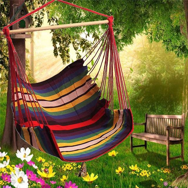 Tienda Online Sgodde jardín patio porche colgante cuerda de algodón ...