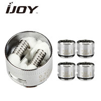 5pcs Lot Original IJOY Tornado Hero Atomizer Head TRC Coil 0 3ohm 40W 80W Replacement TRC