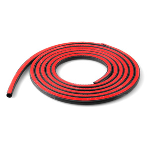 Image 3 - Small D Car Door Seal Strip 2 3 4 Meters Sound Insulation For The Car D Shape 3M Door Seal Auto Rubber Seals