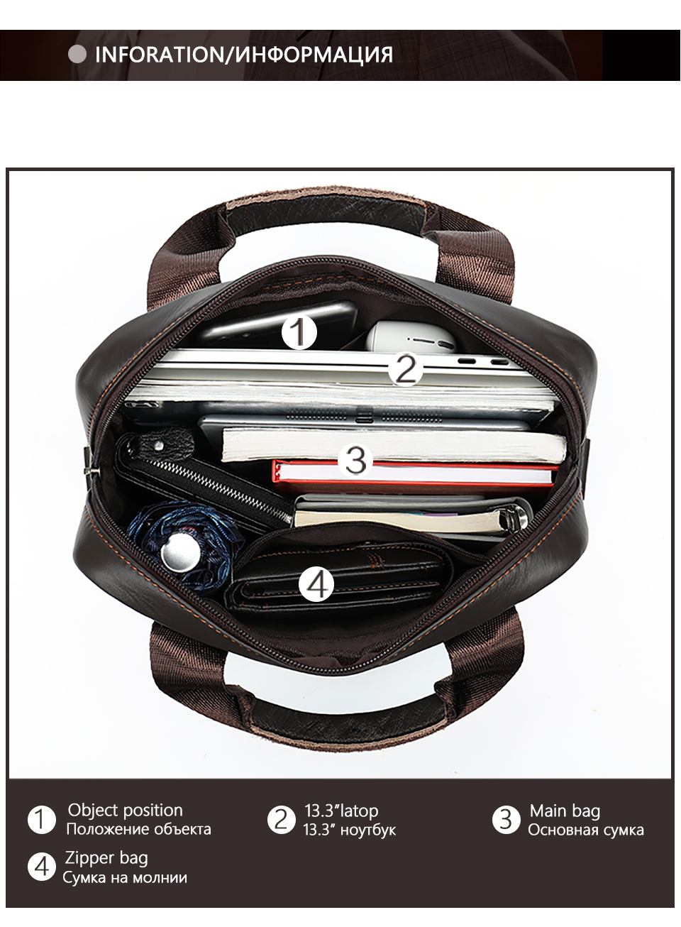 Men \' s Shoulder Bag Male Genuine Leather Crossbody Bags for Men Messenger Bag Casual Vintage Clutch Handbags bolsos 4