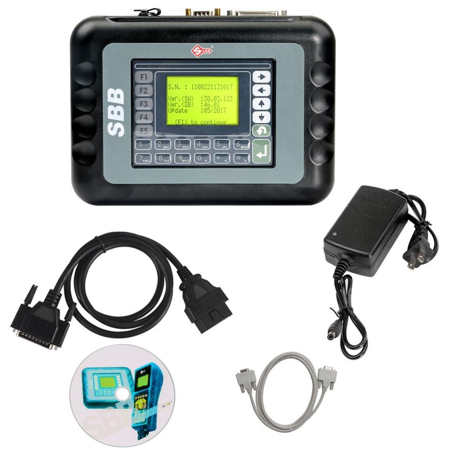 V33.02 SBB V46.02 Programming New Key Slica SBB High Quality SBB Auto Key Transponder Immobilizers Supports 9 Languages tools