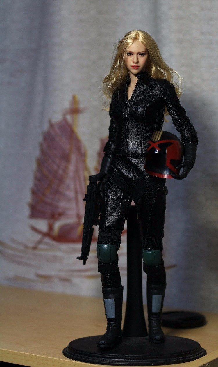 New 1/6 Scale Female Action Figure Model Toys  Heavy Armored Special Cop Model Set Gifts Collections
