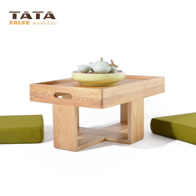Aliexpress.com : Buy Modern Asian Style Tea Table Furniture Design Two  Cushion Seat Low Coffee Gongfu Tea Tray Table Japanese/Chinese Wooden Table  From ...