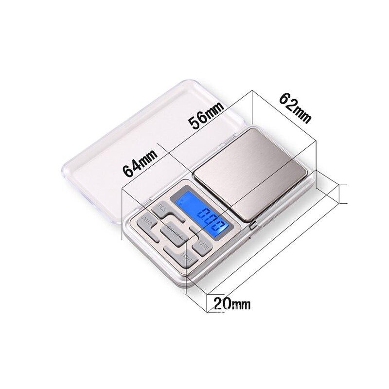 Tasku mini digitaalne 100g / 0,01 g digitaalne tehase hind mini - Mõõtevahendid - Foto 3