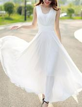 2019 New Yfashion Summer Woman Elegant Charming Bohemia Sleeveless Casual Maxi Dress vestidos Top Quality