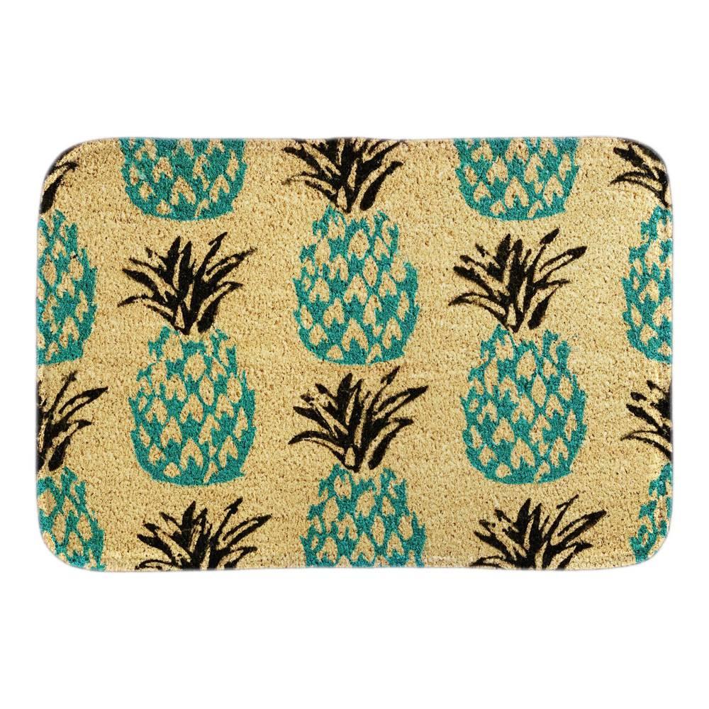Blue Pineapple Doormat font b Indoor b font Outdoor Cute Fruit Decor Door Mats For Living