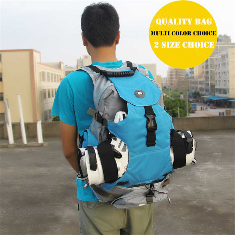 Quality outdoor roller skate shoes backpack with big size for sports camping men's backapck or women's for a variety of venues