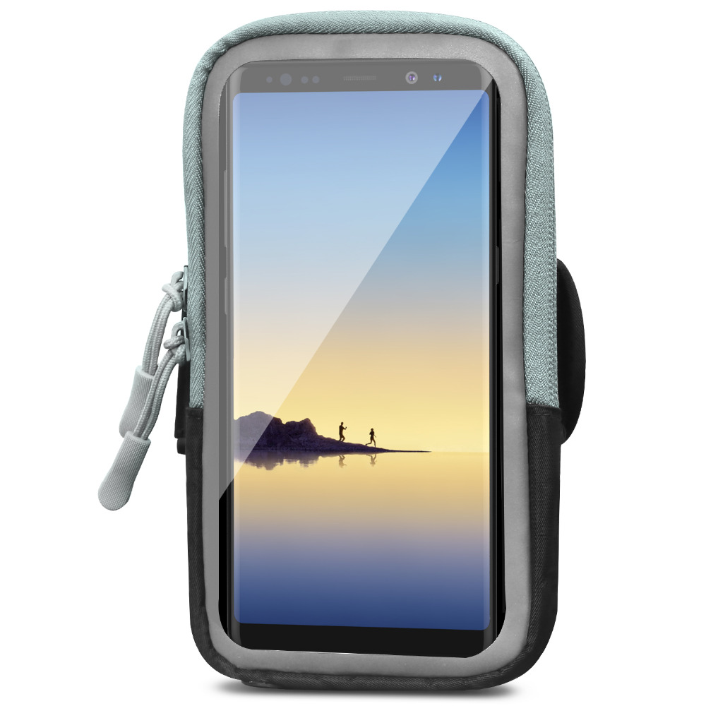Sports Armband,Multifunction Arm Bag For Running, Workout, Fitness, Cellphone Pouch Bag For Galaxy Note 8/S8+, IPhone X/8 Plus/8