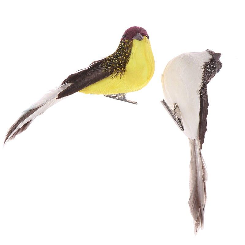 1pc Fake Craft Birds Artificial Foam Feathers Mini Bird,Decoration Mariage Table,Birthday Party Decorations Kids,Wedding 3