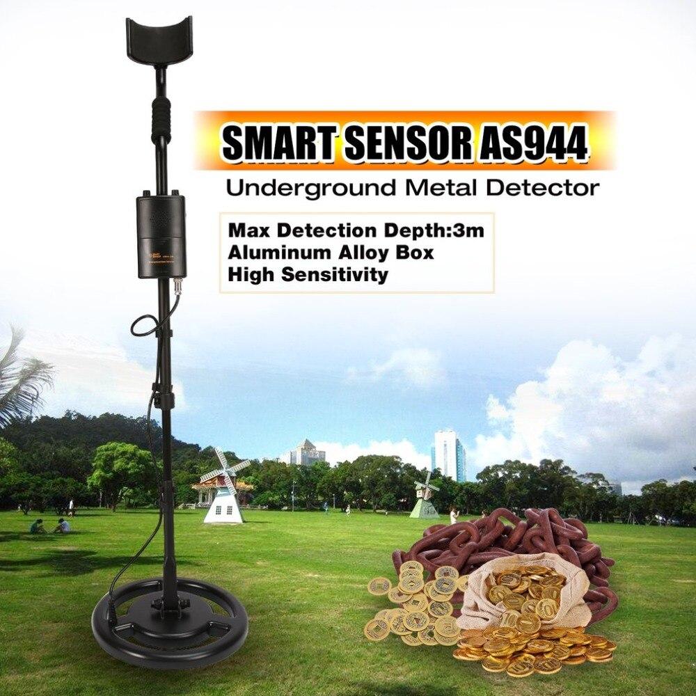 AS944 Professional подземный детектор металла регулируемый Золото детектор серебра Охотник за сокровищами Трекер 3 м глубина