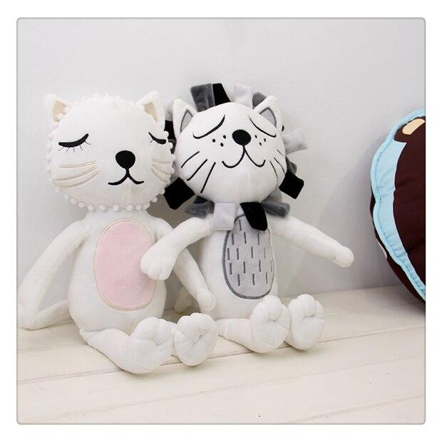 Baby Lion Pillow Kids Fyldte Legetøj Dukker Room Sengetøj Indretning Pude Cama Travesseiro Baby Drenge Piger Julegave Almofadas