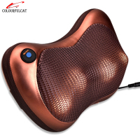 Colourfulcat Body Car Massage Pillow Heating Cervical Massage Device Neck Household Electric Lumbar Slimming Massager Cushion