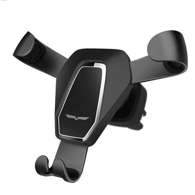 YWEWBJH Universal Car Phone Holder Gravity Sensing Angle Rotation Ventilation Device Navigation Phone For iPhone For Samsung