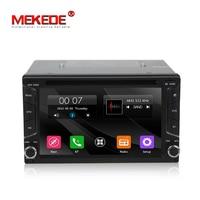 Free ship!MEKEDE universal Car GPS DVD player Car multimedia Navigation GPS Player for Nissan Toyota Kia VW support Radio BT RDS