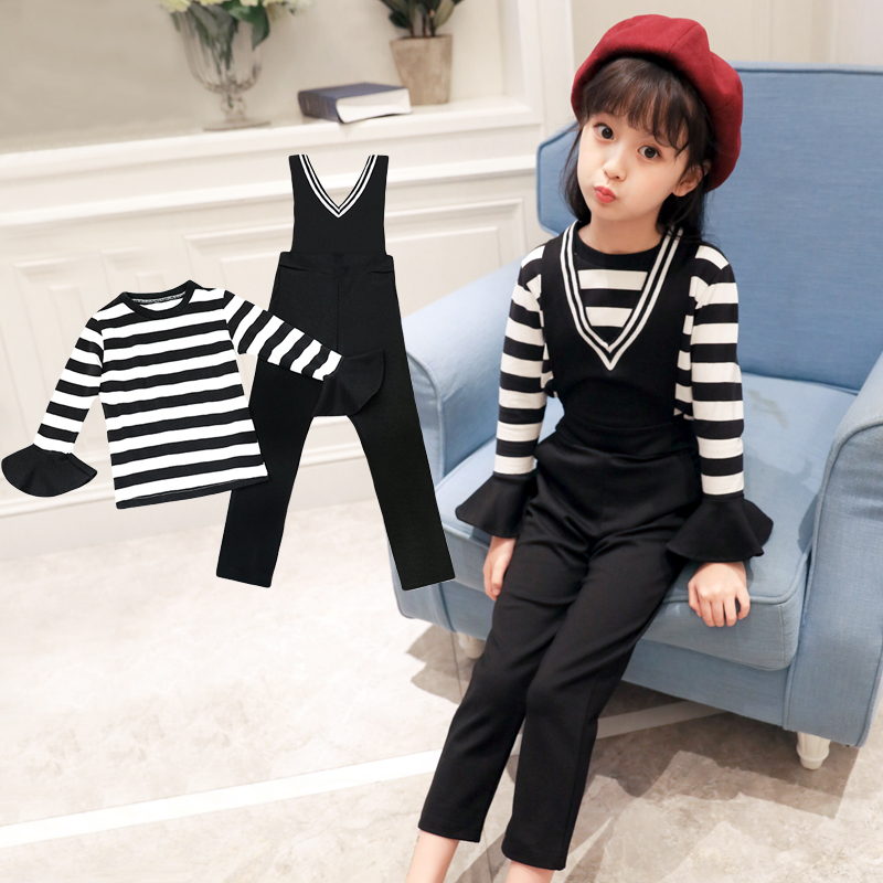 Winter Girls Clothing Sets 2017 New Active Girl Clothing Sets Children Clothing Cartoon Print Sweatshirts+Pants Suit fashion autumn winter girls children sets clothing long sleeve o neck pullover cartoon dog sweater short pant suit sets for cute girls