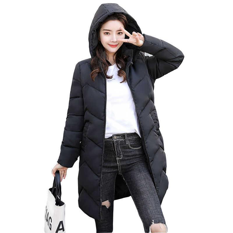 2020 neue Winter Jacke frauen Plus Größe Frauen Parkas Verdicken Oberbekleidung mit kapuze Winter Mantel Weibliche Dünne Schnee Weiß gleichen grundlegenden tops