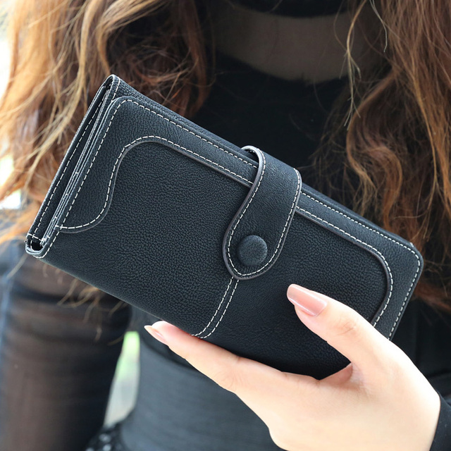 BVLRIGA Nubuck leather wallet women luxury brand coin purse bag female clutch bag Handbags dollar price long wallets carteira
