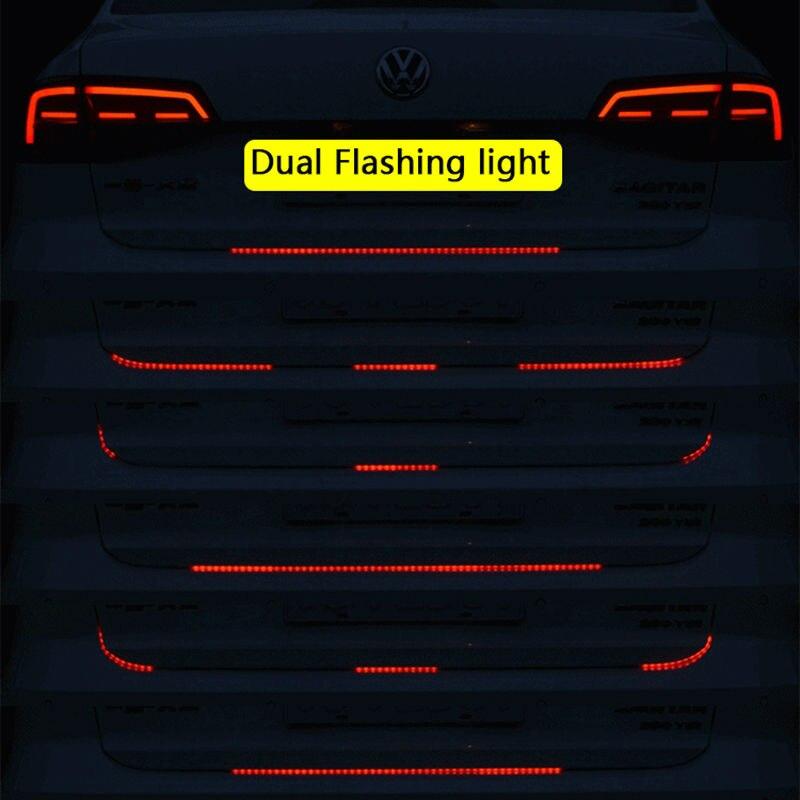 Flexible Tailgate LED Strip Light Bar Reverse Brake Turn Signal Tail For Ford Dodge Ram Chevy Chevrolet Backup Reverse Brake Tail Turn Signal Light 5-Function Red White For Truck SUV Pickup (3)