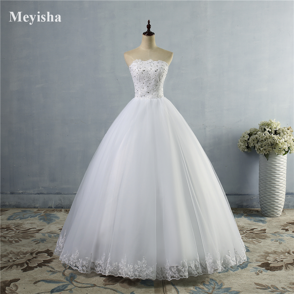 973bc41ff5e9 ZJ9030 Lace Up Wedding Dresses for Bridal Gowns Dress for Brides with Plus  Size size 2 4 6 8 10 12 14 16 18 20 22 24 26