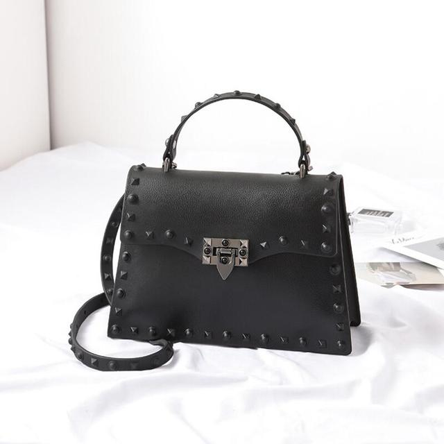 Handbags Women Rivet...
