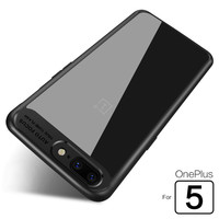 1 One Plus 5 Five Case Cover Transparent Case For Oneplus 5 Five Back Cover Capa