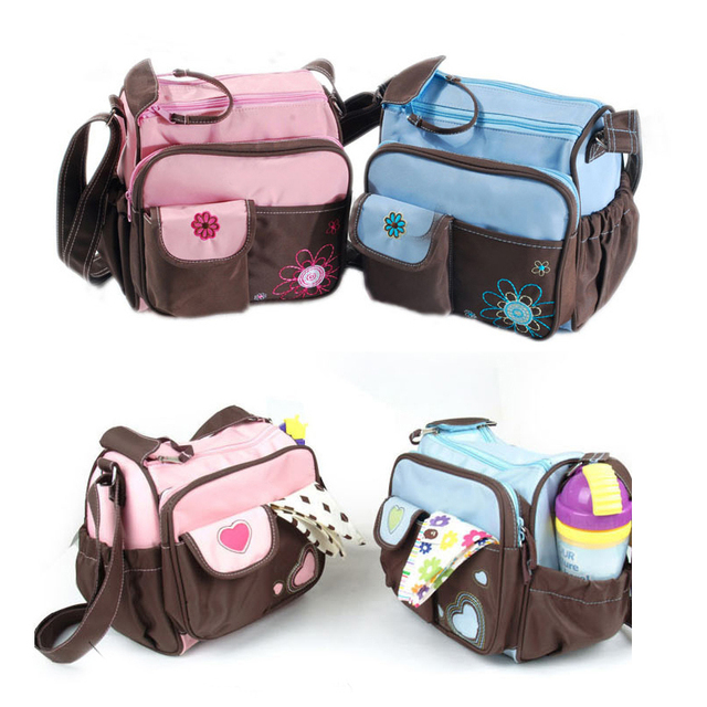 7107dbe05ea8f hot sale Baby Diaper Nappy Portable Small Bags Stroller Bag For Mother  Baby  Maternity Changing Capacity Shoulder Handbag Summer