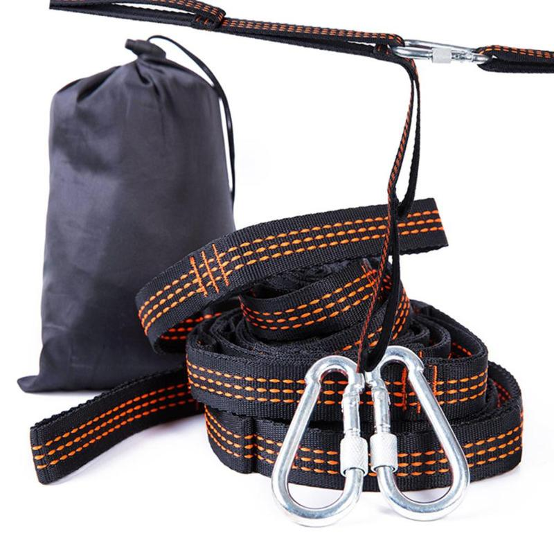 Portable Camping Hiking Hammock Bind Rope Outdoor Traveling Accessories