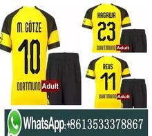 5f9534c5742 FREE Ship 18 19 men BVB Borussia Dortmund PULISIC soccer jersey kit 2018  2019 WITSEL GOTZE