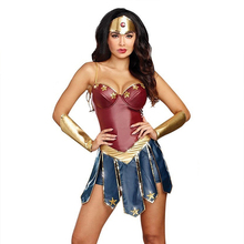 Wonder Women Cosplay Costume Superhero Superwoman Diana Justice League Dress Sexy Halloween Costumes For Role Playing