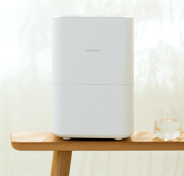 Pure type humidifier mute high capacity intelligent household bedroom office air humidifier