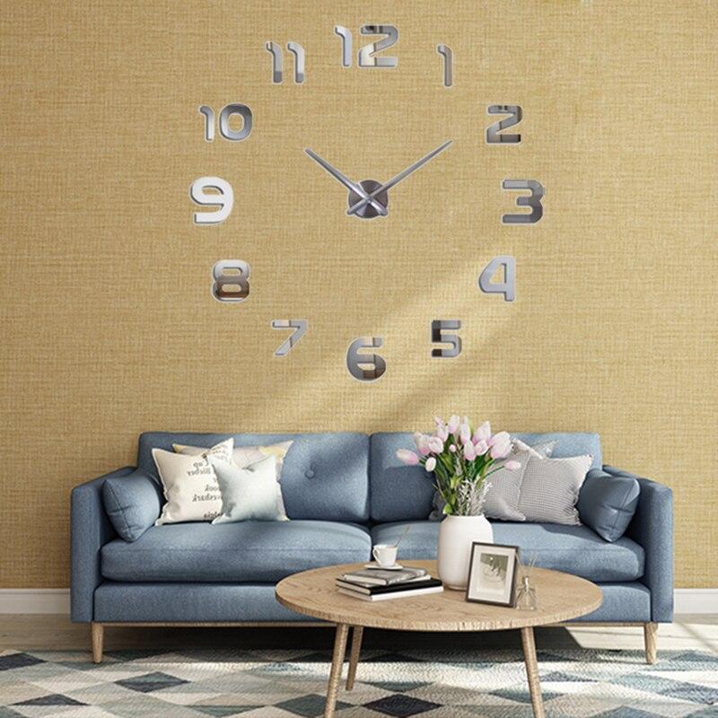 2019 Νέα Μέταλλο DIY Ρολόι Τοίχου - Διακόσμηση σπιτιού - Φωτογραφία 4