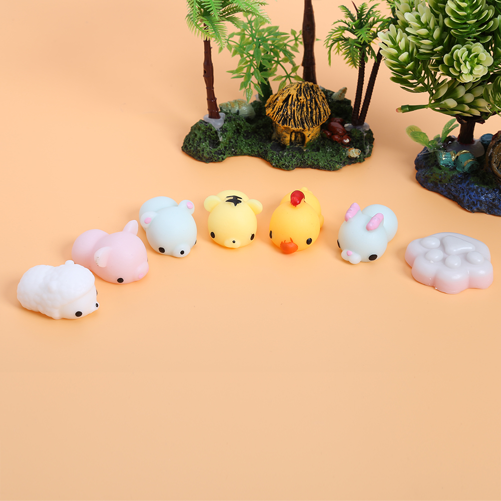 Mochi Squishy Seal Healing Toy Cute Squeeze Abreact Fun Joke Gift Rising Adult Kids Healing