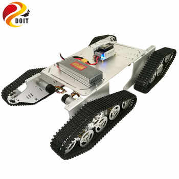 DOIT Metal Smart Tank Chassis T900 with ESP8266 and WiFi Video Remote Control Transmission for VR Shoot RC Tank Toy - DISCOUNT ITEM  5% OFF All Category