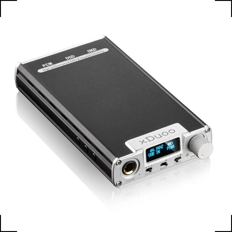 New arrival XDuoo XD 05 Portable Audio DAC Headphone AMP support native DSD decoding 32bit 384khz