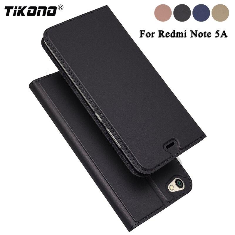 Tikono для Xiaomi Redmi Note 5A Чехол Флип кожа ультра тонкий Телефонные чехлы для Xiaomi Redmi Note 5A роскошные принципиально