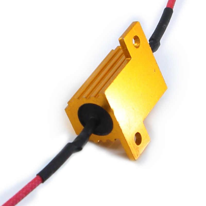4X 25W LED הפוך בלם הפעל אות אור תיקון שגיאה נגד עומס מהיר פלאש 7443 WY21W W21W 7440 P21/5W 1157 P21W 1156 PY21W