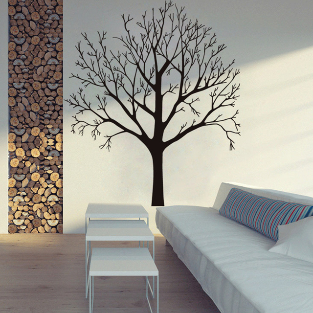 Family Tree Wall Decals Photo Frame Tree Vinyl Wall Stickers For