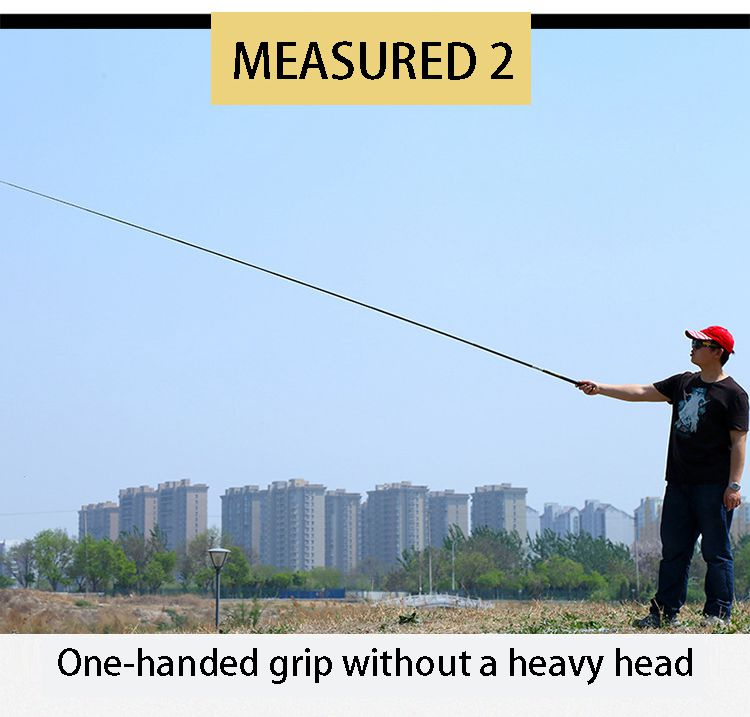 Telescopic Fishing Rod with High Quality Carbon Fiber Suitable Catching Large Fishes during Travel 21