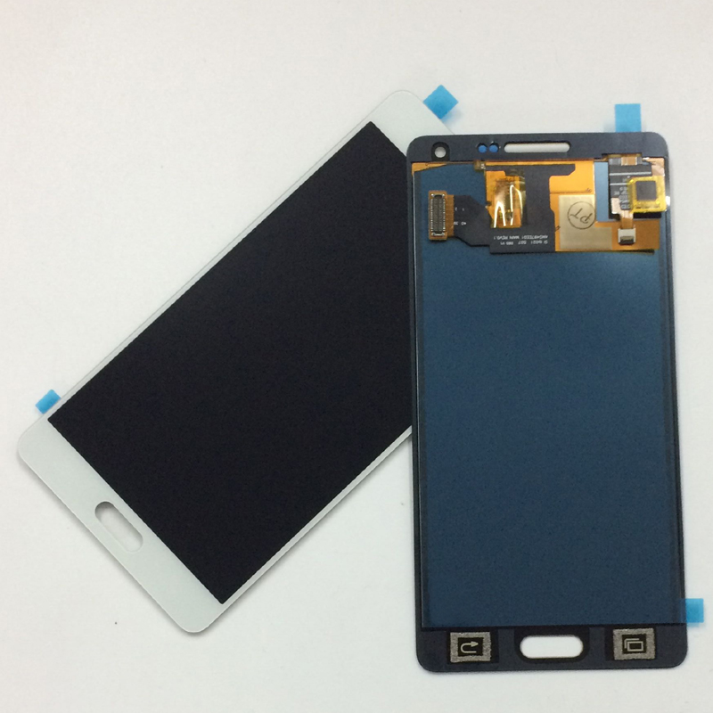 White For Samsung Galaxy A5 2015 A500 A500F A500FU A500M A500Y A500FQ Touch Screen Digitizer Glass + LCD Display Panel Assembly