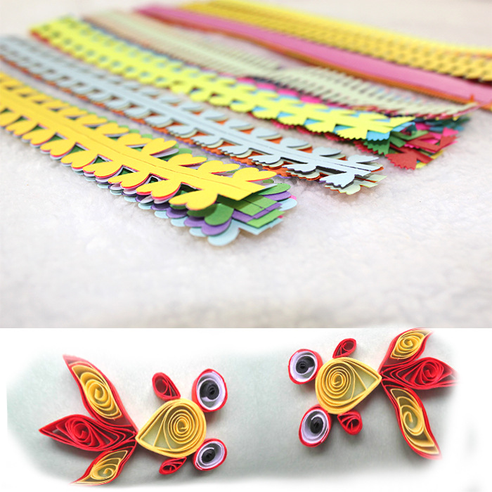 Arts,crafts & Sewing Diy Craft Paper 3d Stereo Flower Paper Quilling Colorful Manual Origami Materials Latest Fashion Scrapbooking & Stamping