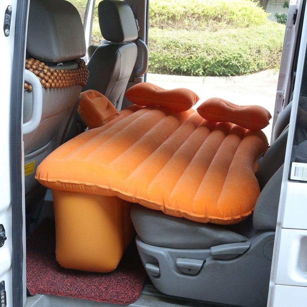 Автомобиль обратно сиденья автомобиля матрац кровати путешествия надувной матрас воздуха кровать Хорошее качество надувная кровать автом...
